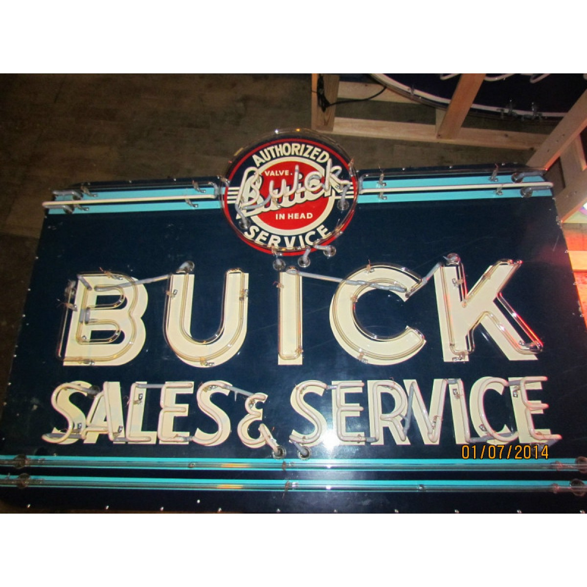 """Neon Signs For Sale >> New Buick Sales & Service Neon Sign 57""""W x 48""""H"""