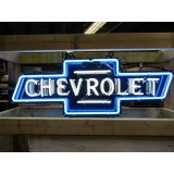 "New Chevrolet Bowtie Single-Sided Neon Sign 46""W x 21""H - SSN"