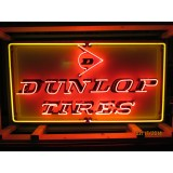 "New Dunlop Tires Neon Sign -52""W x 28""H"