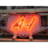 "New Double-Sided Ford A-1 Animated Arrow Neon Sign 6 Feet Wide x 30"" High"