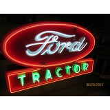 "New Ford Tractor Neon Sign 72""x42"""