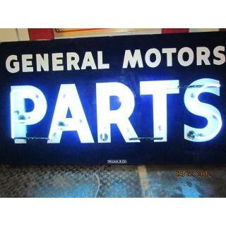 """New """"General Motors Parts"""" Neon Sign - 58"""" x 30""""H"""