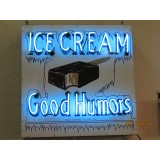 "New Good Humor Neon Ice Cream Sign 42""x36"""