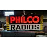 "New Philco Radios Neon Sign 72""W x 32""H - SSN"