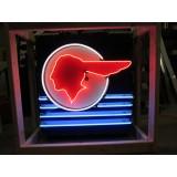 "New Pontiac Dealership Neon Sign  33""W x 35""H"