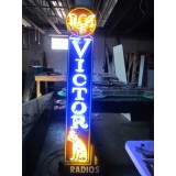 """New RCA Radios Records Neon Sign 14""""W x 7FT H - SSN"""