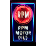 """New RPM Motor Oils Neon Sign 33""""x56"""" - SSN"""