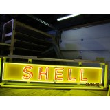 """New Shell Neon Sign 116"""" x 20"""" - SSN"""