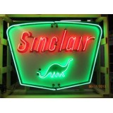 "New Sinclair Dino Gasoline Neon Sign  60""W x 42""H - Very Cool!"