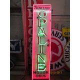 "New Sinclair Opaline Motor Oil Vertical Neon Sign 60""H x 15""W - SSN"
