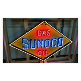 New Sunoco Gas Oil Neon Sign - 8 FT x 4 1/2 FT - SSN