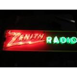 "New Zenith Radio Sign 72"" W x 32"" H - SSN"